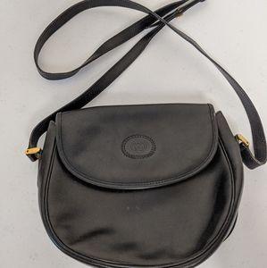 Gucci Small Black Leather Cross Body Bag
